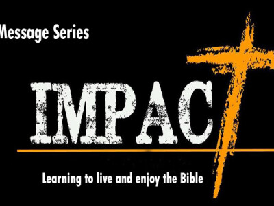 Impact: Learning to Live and Enjoy The Bible